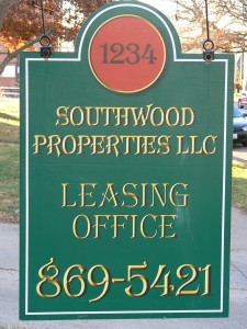 southwood sign