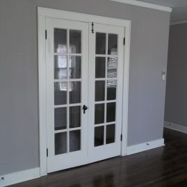 French doors available on 1 bedroom and select studios